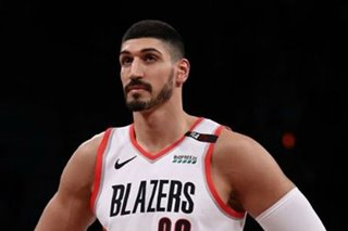 NBA: Kanter won't play in Toronto over arrest fears