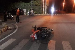 Motorcycle rider patay sa hit-and-run sa Bacolod