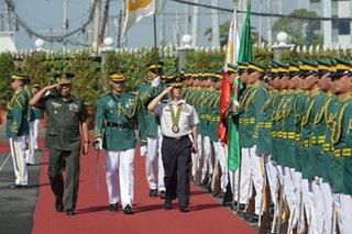 Japan's Self-Defense Force head visits Manila