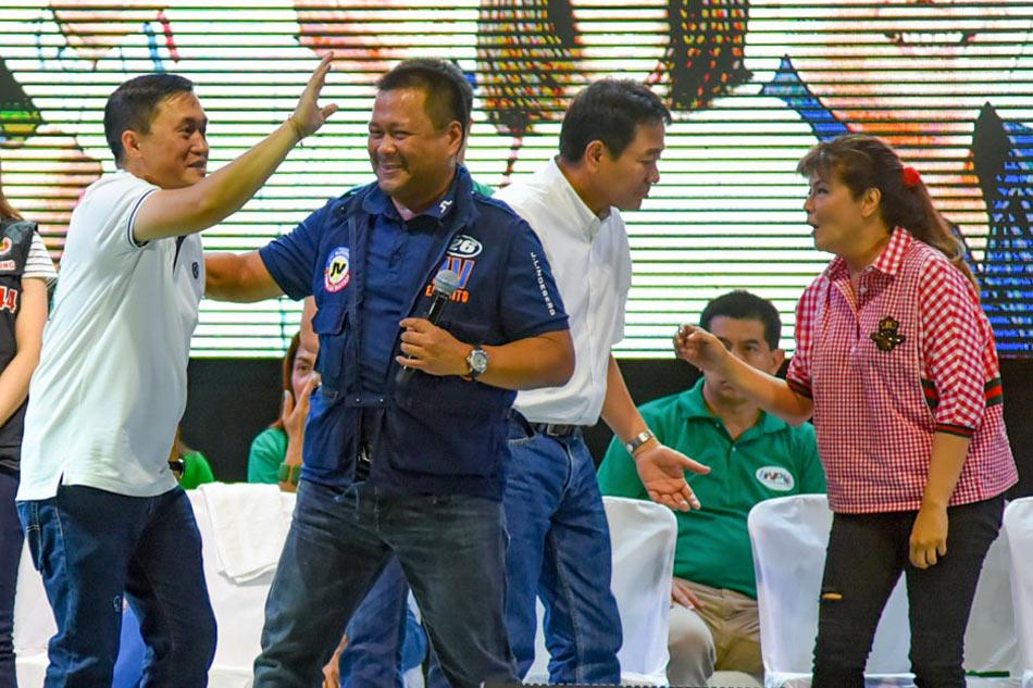 Hugpong bets woo voters in Parañaque
