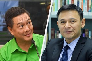 Tañada says 'no bad blood' with 'friend' Angara despite debate snub