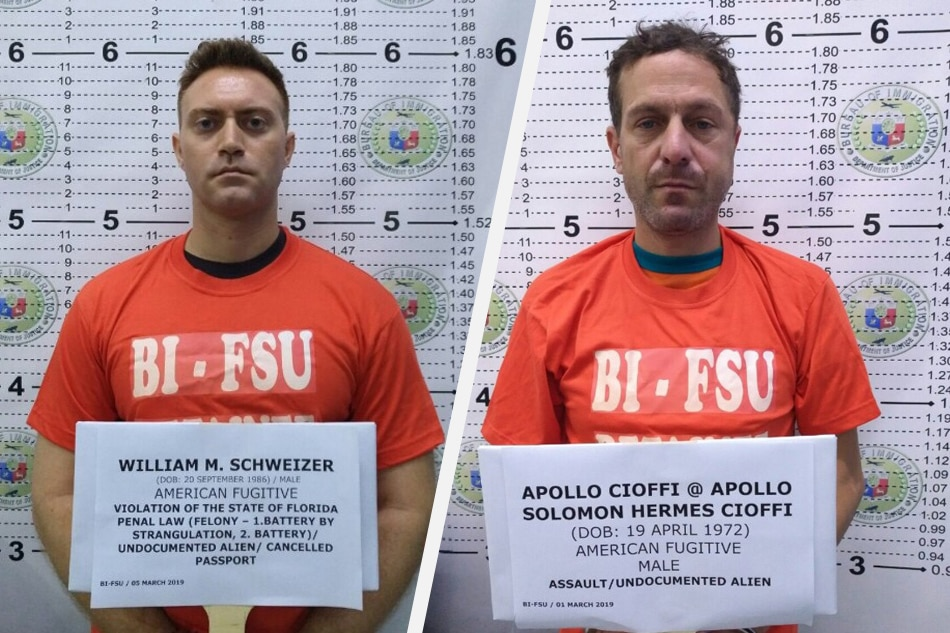 2 American fugitives arrested in Philippines | ABS-CBN News