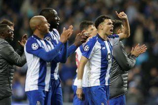 Football: Porto go through with extra time VAR penalty