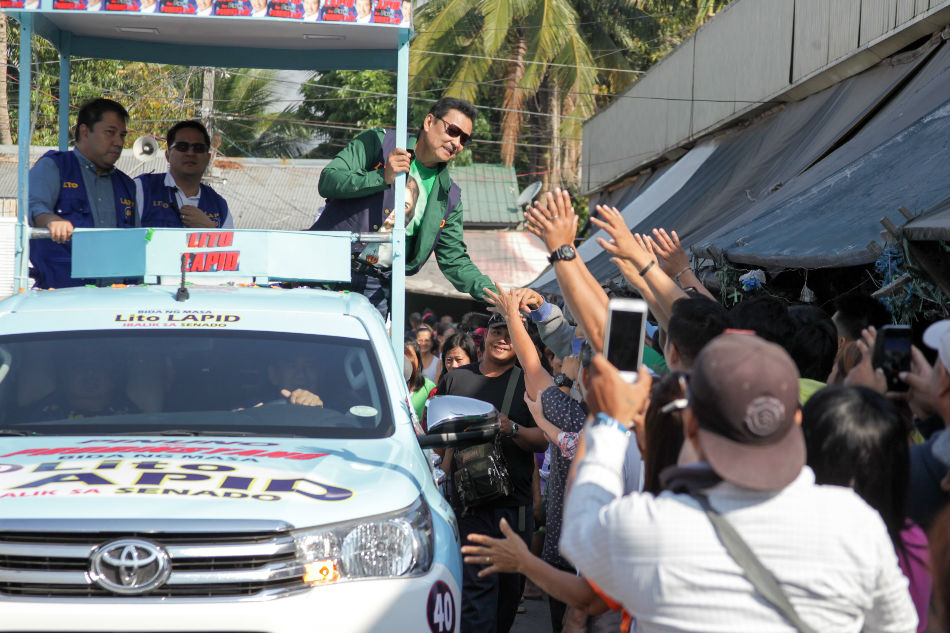 From 'Pamparami' to 'Pinuno': Hit TV series stokes shrieks in Lapid campaign 1