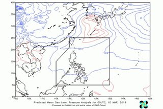 Warm winds from Pacific blow over PH