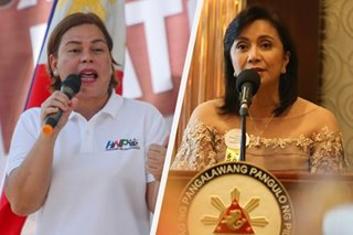 Sara Duterte slams Robredo's 'fake courage'