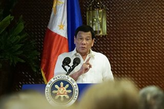 Palace shuns possible raps against Duterte when he steps down