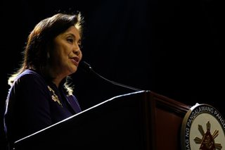 Robredo slams OSG for involvement in sedition complaint