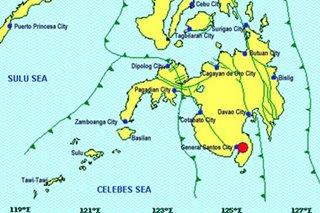 Magnitude 5.6 quake hits Sarangani