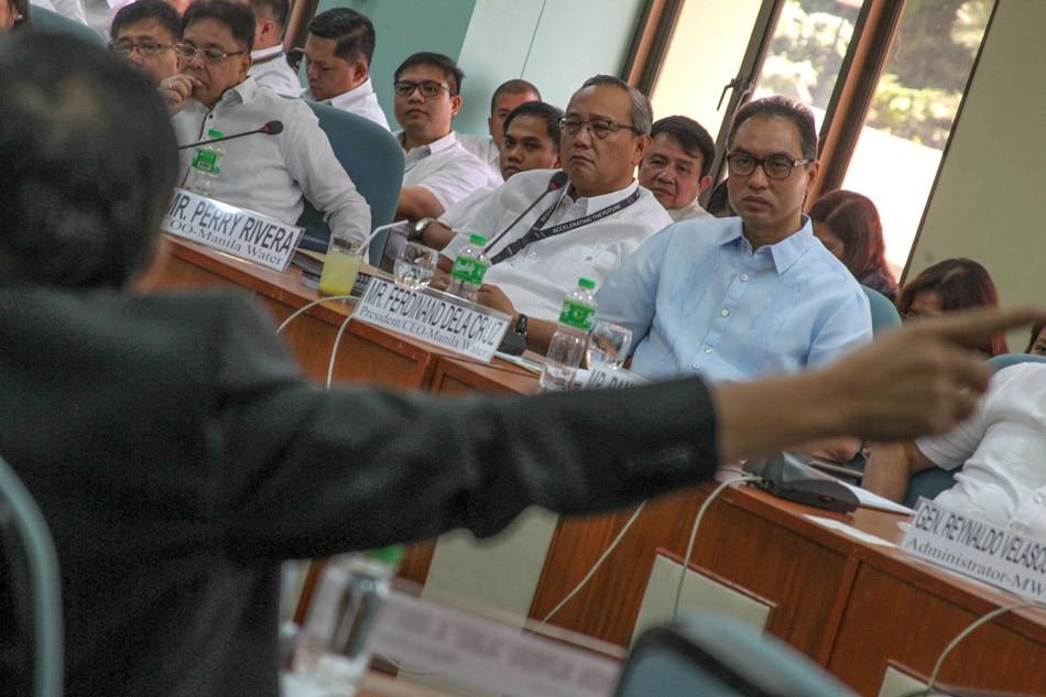 Manila Water executives in hot water