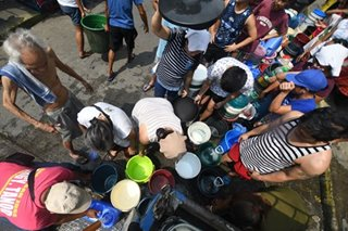 MWSS commits to Duterte: Water shortage will be settled