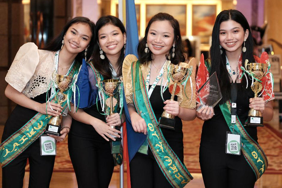 How Filipina 12th-graders used coconut to bag int'l entrepreneurship