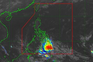 Chedeng weakens into LPA after landfall, but rains to persist