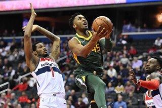 NBA: Gobert, Mitchell help Jazz push past Wizards