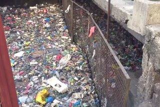 Estero de Magdalena puno na naman ng basura