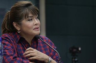 Imee says it's Marcos family 'responsibility' to air their side