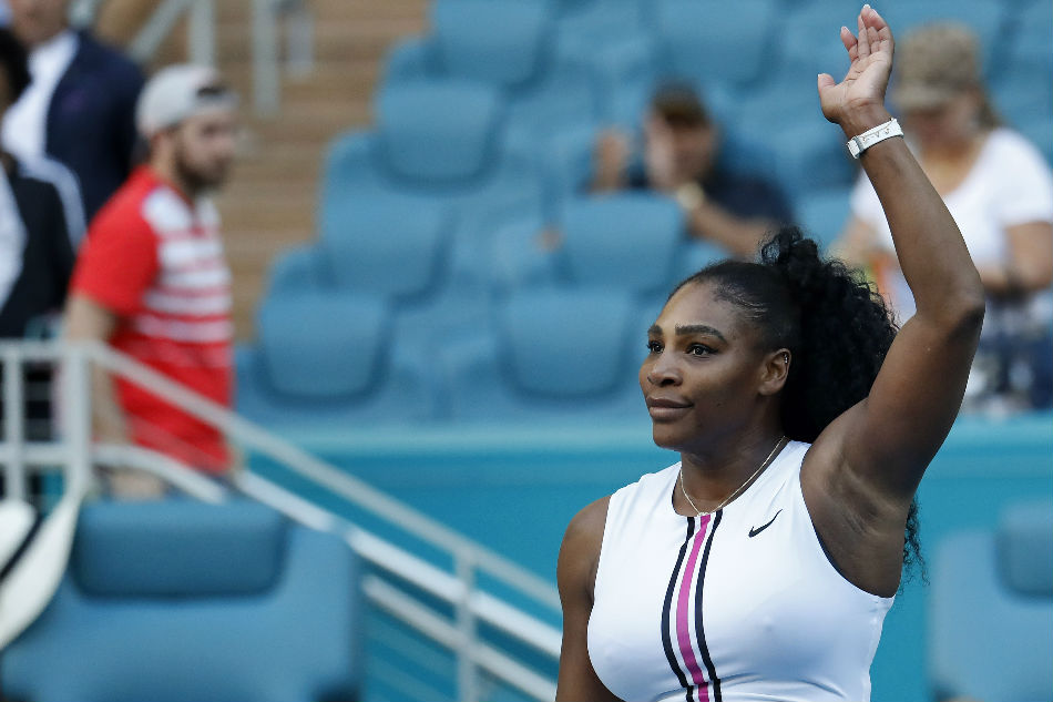 Serena withdraws from Miami Open due to injury