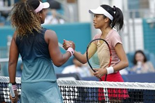 Tennis: World number one Osaka stunned by Hsieh in Miami
