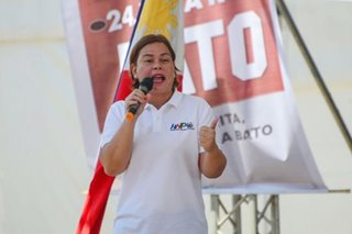 Sara Duterte's ex-poll lawyer tells her: Candidates should be honest, too