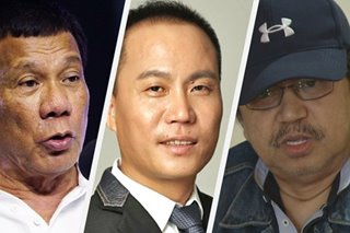 Duterte blasts ex-cop who linked Chinese adviser to illegal drugs