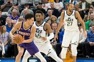 NBA: Gobert helps Jazz slam past Suns