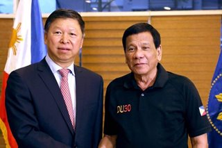 Duterte tells Chinese officials: Gov't not involved in ICC case vs Chinese president