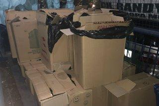 P700,000 halaga ng pekeng yosi, nasamsam sa Tondo