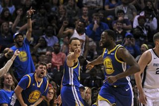 NBA: Curry, Durant propel Warriors past Grizzlies