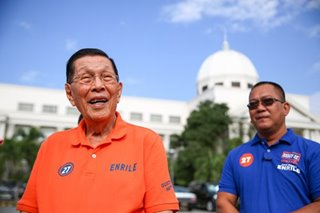 Longevity not immortality: At 95, Enrile fights for last political comeback