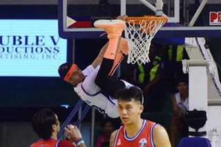 'No fine': Arwind Santos' Spider-man dunks in All-Star fine with PBA