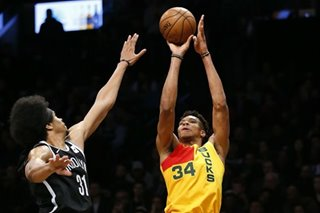 NBA: Bucks hold off Nets behind Antetokounmpo