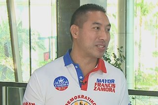 Zamora wants to 'restructure' San Juan's P1.2B loans if elected