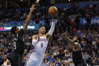 NBA: Westbrook shrugs off critics after playoff exit