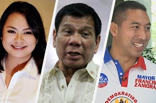 Janella Estrada claims Duterte backing over PDP-Laban's Francis Zamora