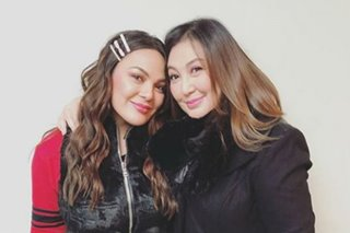 All is well between Sharon Cuneta, daughter KC