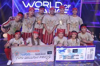 IN PHOTOS: FCPC Baliktanaw wins 'World of Dance PH'