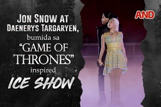 Jon Snow at Daenerys Targaryen, bumida sa 'Game of Thrones'-inspired ice show (9pm)