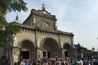Intramuros opens 9 churches, chapels during Holy Week