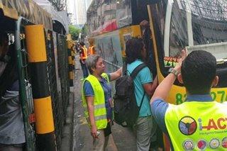 140 bus idineploy sa pagsasara ng MRT para sa Semana Santa