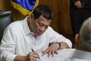 Duterte signs law declaring Sept. 8 a special working holiday