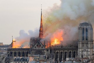 Fire destroys Notre Dame Cathedral in France