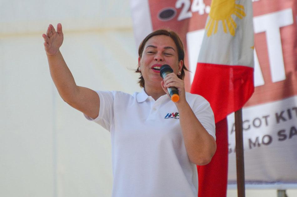 Sara Duterte endorses rival bets in Davao del Sur