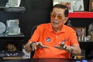 Enrile wants early production of evidence by prosecution in plunder case