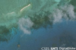 LOOK: Satellite images show Chinese maritime militia near 2 PH islands