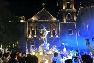 A new, livelier 'Salubong' welcomes Easter in PH's oldest church