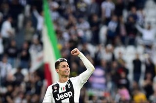 Football: Juventus claim eighth successive title