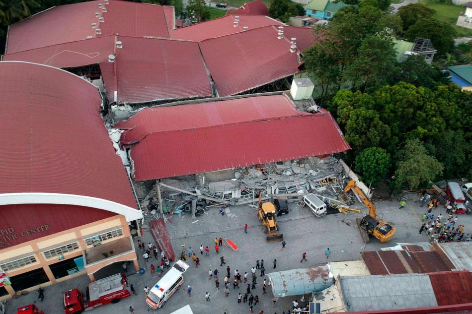 Luzon quake damages supermarket in Porac