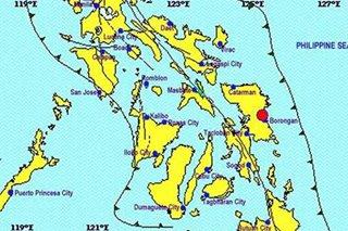 Magnitude 3.7 aftershock hits Eastern Samar