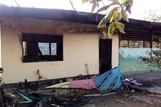 School building sa Zamboanga City natupok dahil umano sa paglalaro ng apoy