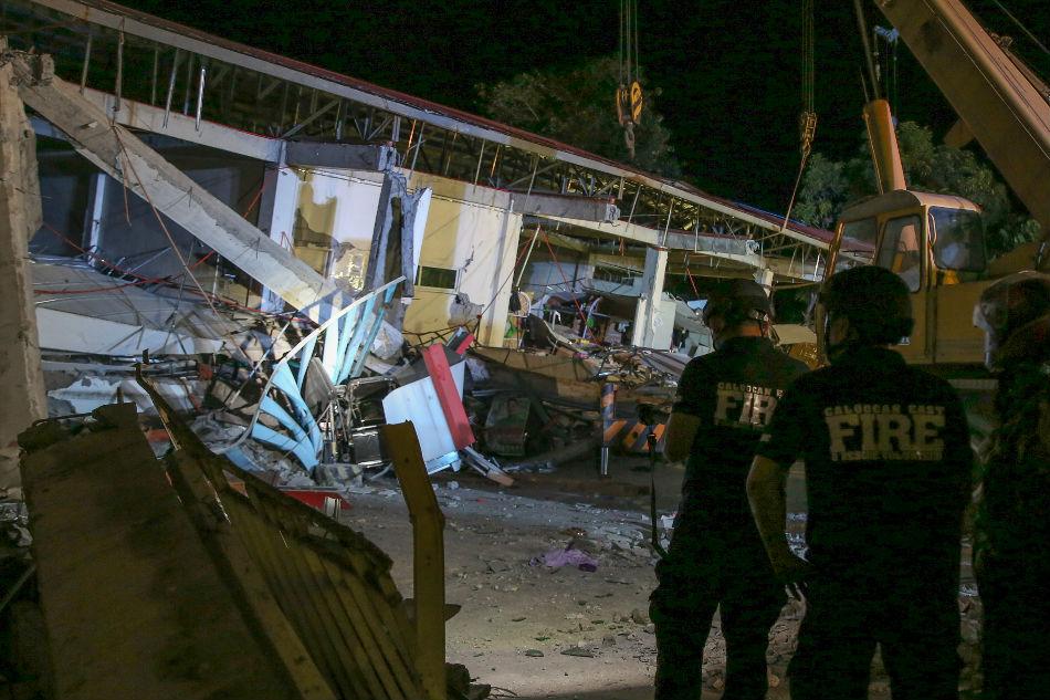 Pampanga mart should have withstood powerful quake - Phivolcs
